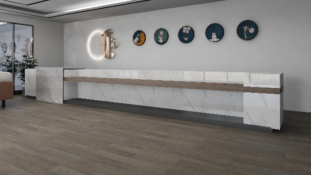 新三层实木复合地板—栎木XSC021