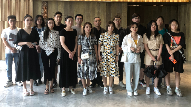 质鼎国际设计莅临欧林如海杭州旗舰店参观交流