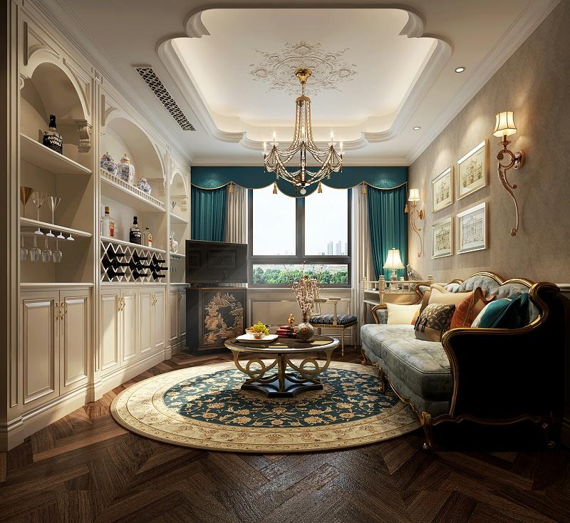 摄图网_500591873_banner_欧式客厅室内设计效果图(非企业商用)
