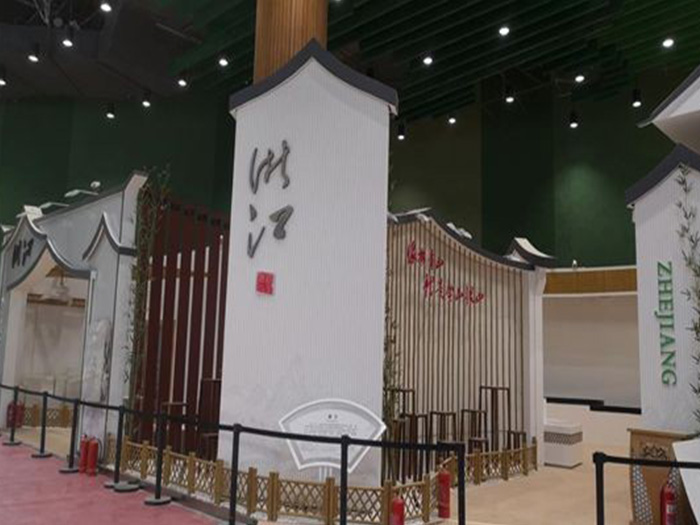 北京世园会实木复合地板案例!